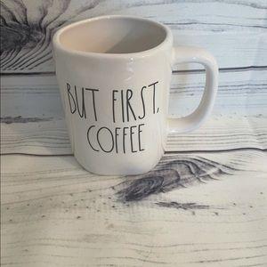 New Rae Dunn But First Coffee, Coffee Mug